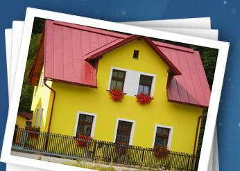 Fotografie penzionu v Herlíkovicích